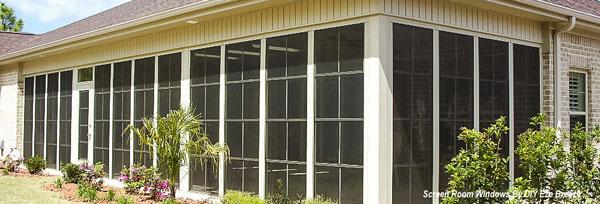 DIY EzeBreeze screen porch windows