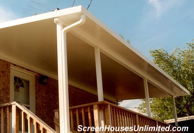 diy insulated porch roof for deck