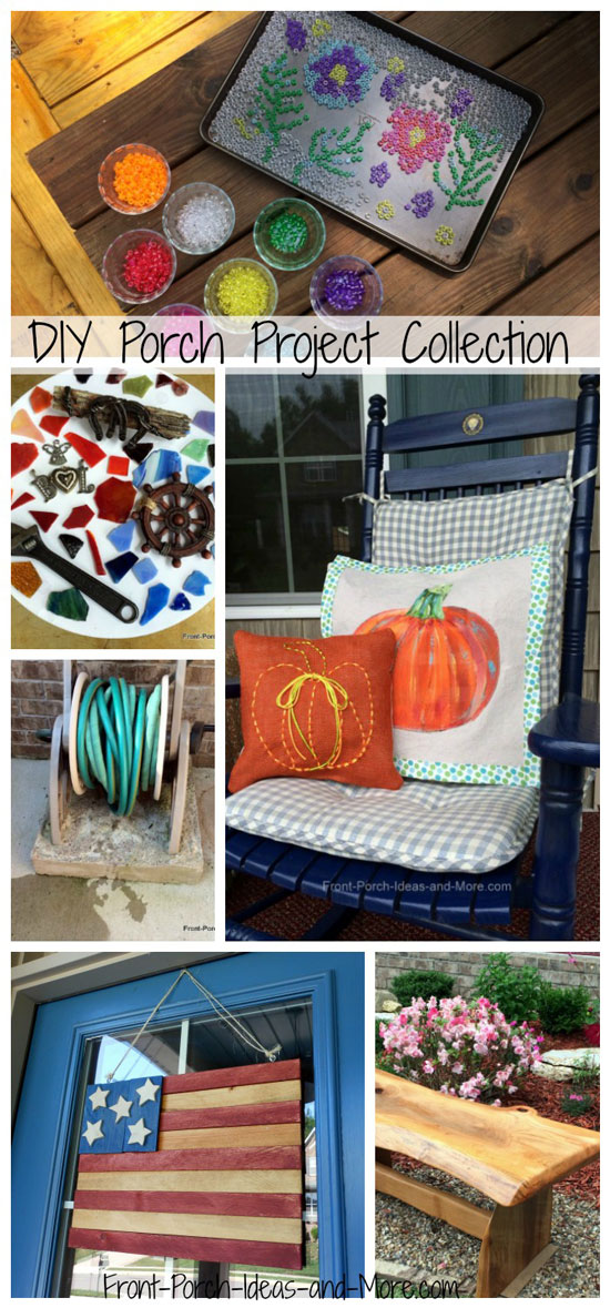 DIY porch projects collection from Front Porch Ideas and More.
