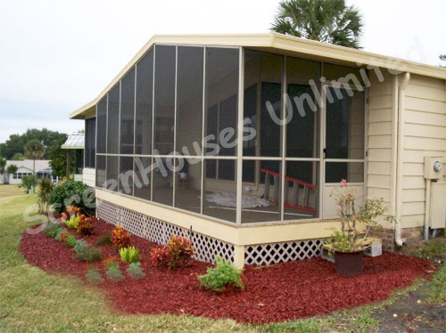 screen porch kit by ScreenHousesUnlimited.com