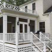 How to build a porch build a front porch front porch addition front porch as screened enclosure solutioingenieria Image collections