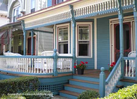 Exterior trim on house