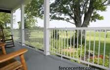 Aluminum Railing Sections - example 1