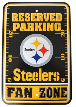 NFL Parking Sign