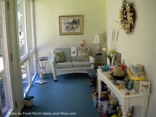 Four season porch - Lou and Helens