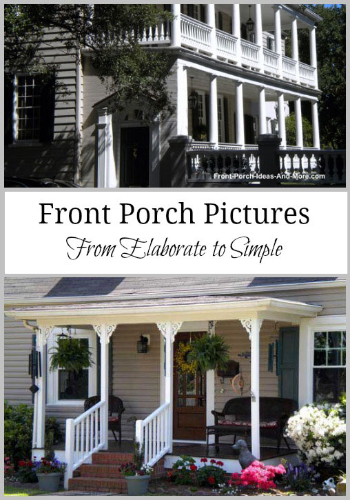 porch pictures collage