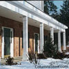 fypon vinyl columns on front porch
