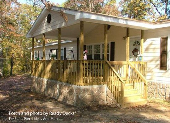 Porch Designs For Mobile Homes By Ready Decks ®