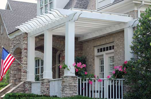 Small porch designs can have massive appeal Front porch without roof