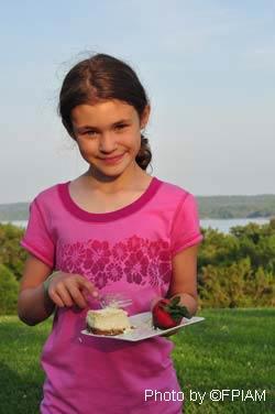 Special strawberry treats at George Washington's home