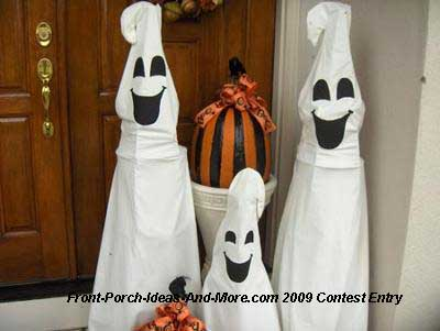 ghosts made from sheets
