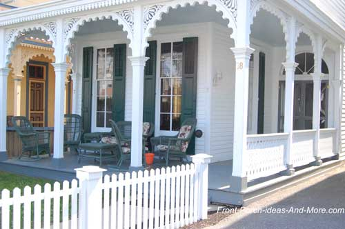 Victorian Style Home with Lovely Gracious Porch