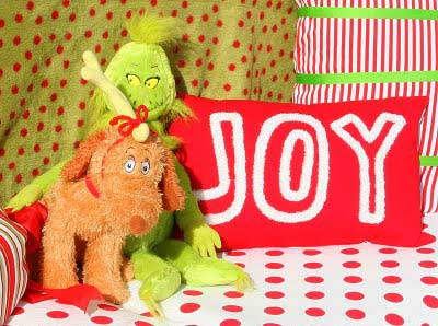 Grinch Christmas close-up