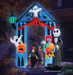 Halloween Nightmare Before Christmas Archway Inflatable