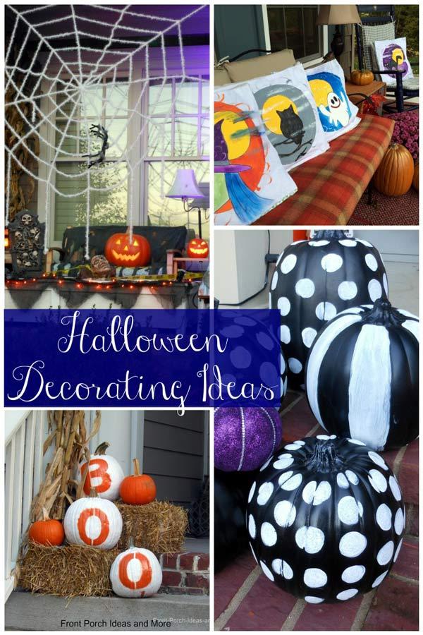 halloween decorating ideas collage