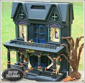 dollhouse haunted house project