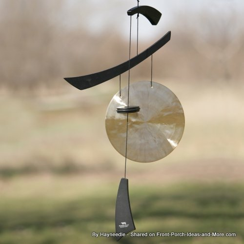 unique wind chimes - oriental style gong