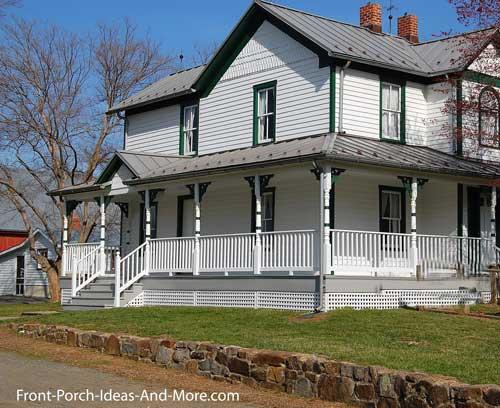 grand country wrap around porch