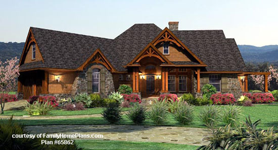 Family Home Plans house plan #65862