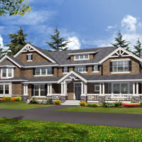 house plan with large front porch from http://www.familyhomeplans.com/index.cfm?ordercode=C46578