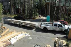 metal roof delivery