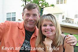 Kevin and Suzanne Taylor with Taylor Made Custom Contracting