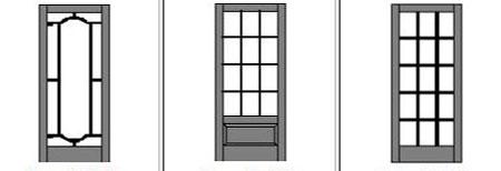 Wood Screen Door lattice designs