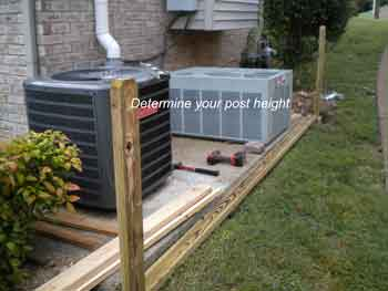 determine your post height
