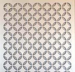 lattice fence design - Moorish Circle
