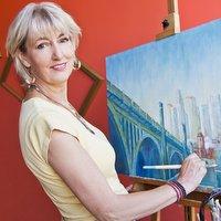 Artist Leisa Collins