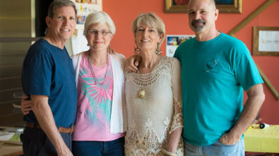 We visited Leisa Collins and Bruce Goodman in their South Pasadena home