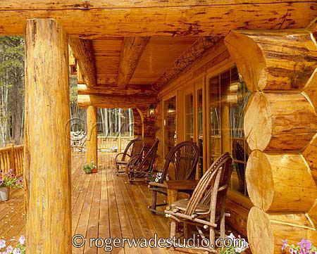 Log Home Pictures | Log Home Designs | Timber Frame Home Design