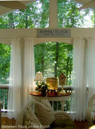 lovely porch curtains