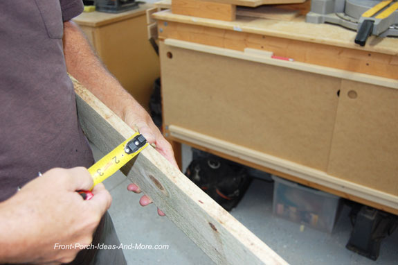 measuring thickness of boards