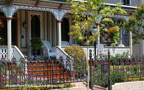 Victorian front porch Beauty