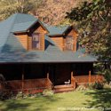 metal porch roof over large country wrap around porch
