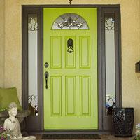 vivid front door paint