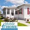 mobile home with parts store logo
