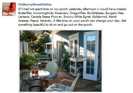 MulberryStreetOnline facebook