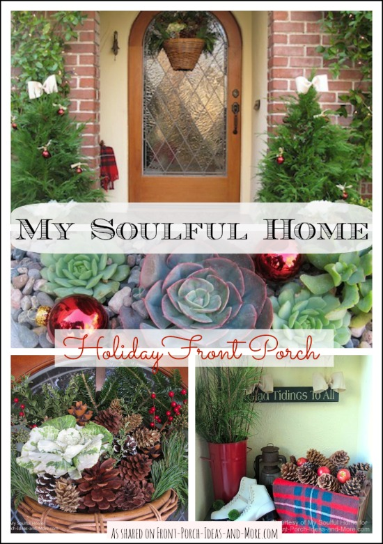 My Soulful Home - Kelly's wonderful Christmas vignette