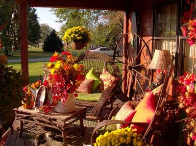 Our country home in the fall