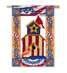 outdoor decorative flag