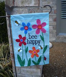 My favorite garden flags