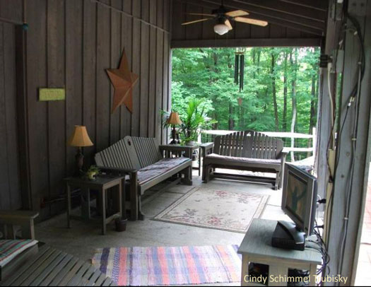 Entertaining ideas in your outdoor room