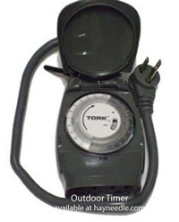 outdoor timer from hayneedle.com