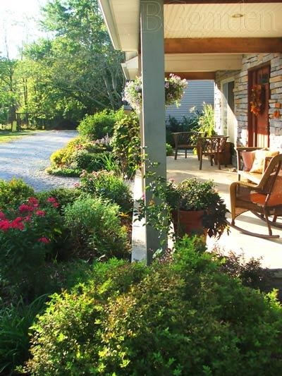 Perennial garden ideas - BGgarden porch