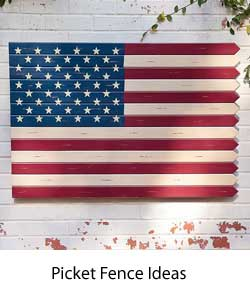 photo link to picket fence ideas