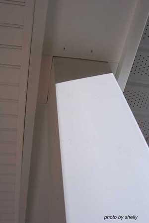 Porch Ceilings- columns