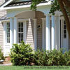 round porch columns on front porch