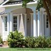 round porch columns on front porch